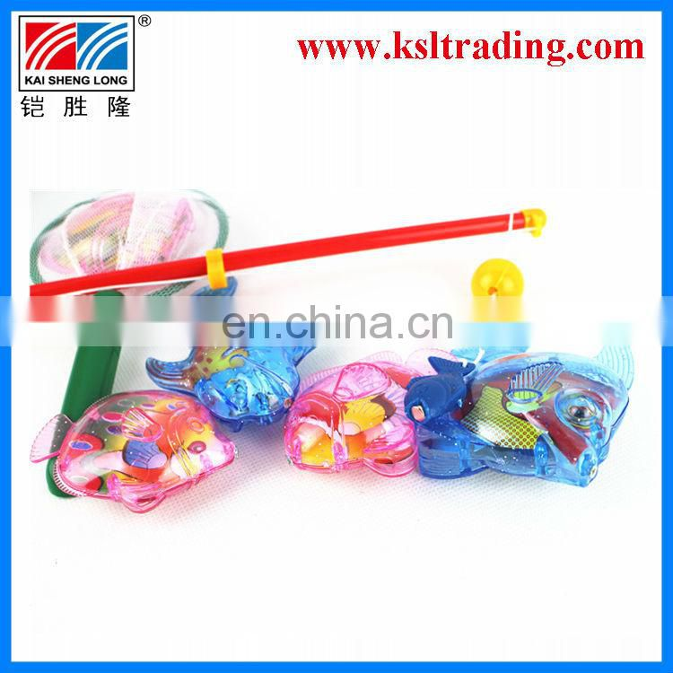 7PCS summer toy kids plastic fishing game for sale