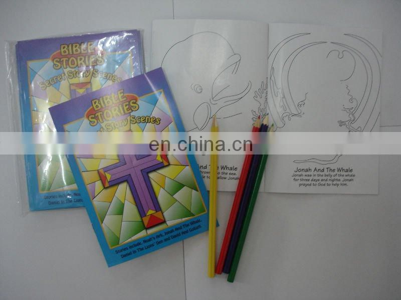 Coloring book (bible stories )