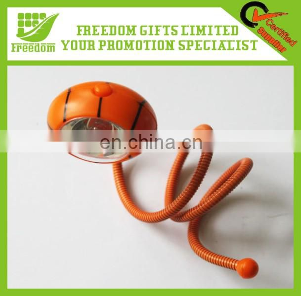 Customized Logo Promotional Flexible Rubber Book Light