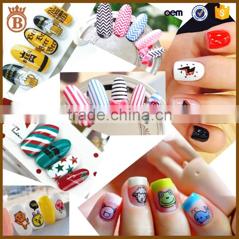Factory Price Cute Korean Style Cartoon Nail Art Stickers for Kids ...