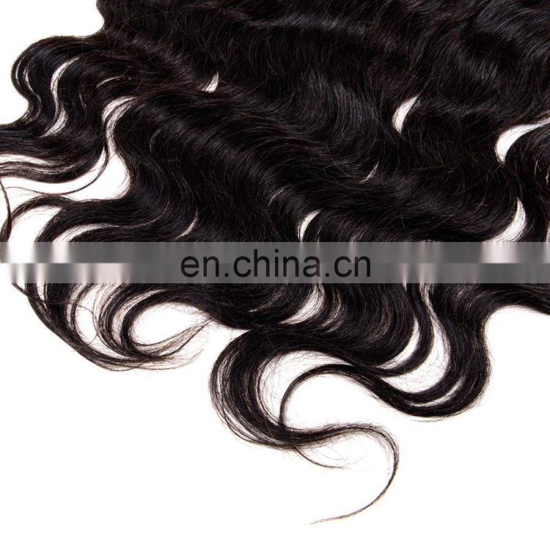 Brazilian Virgin hair Lace Closure,100 human braiding hair,100% body human hair bulk extension