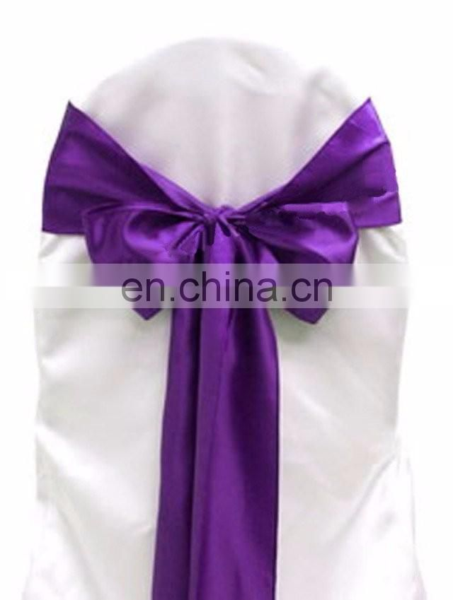 SATIN Wholesale wedding chair sash 5inch satin ribbon