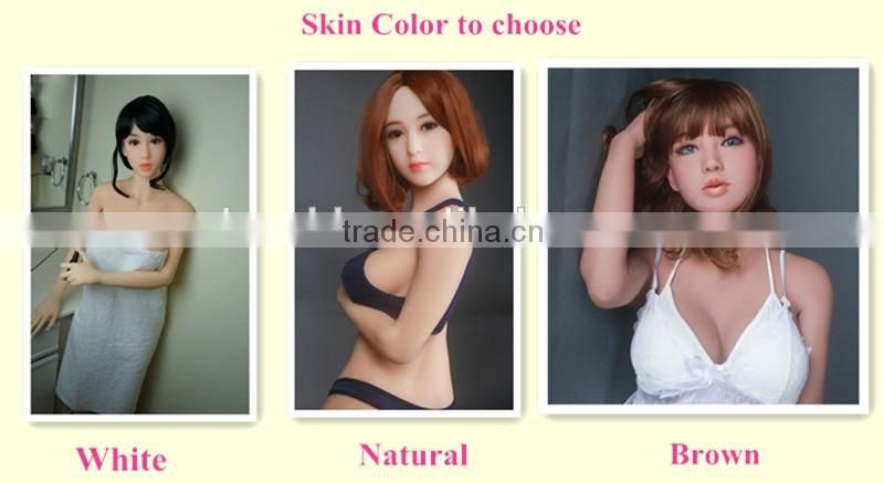 125 hot girl lifelike silicone sex doll for man big breast & hip cheap silicone sex doll male masturbation Vagina sex toy