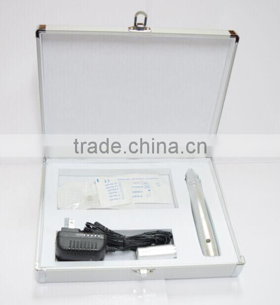 Skin tightening microneedle derma pen with injection