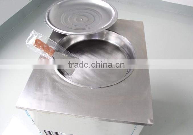 New Style -30 C degree Fried Ice Cream Machine double pan