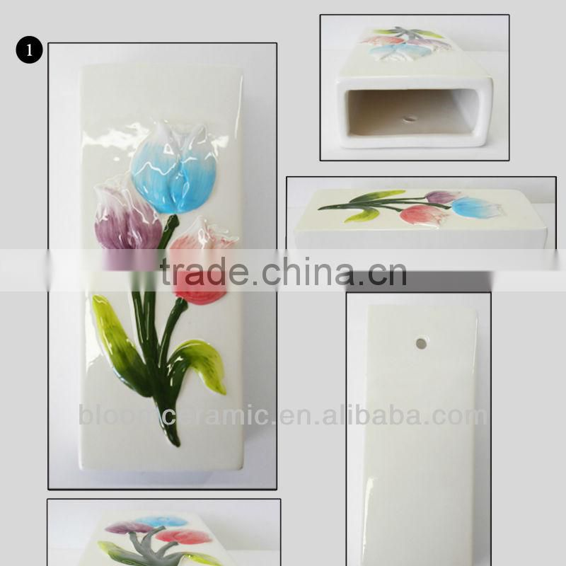 Ceramic flower humidifier for wholesale