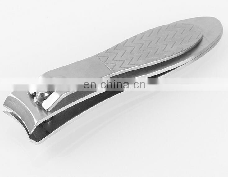 Wholeslae Sharp Stainless Steel Nail Clipper with Custom Logo