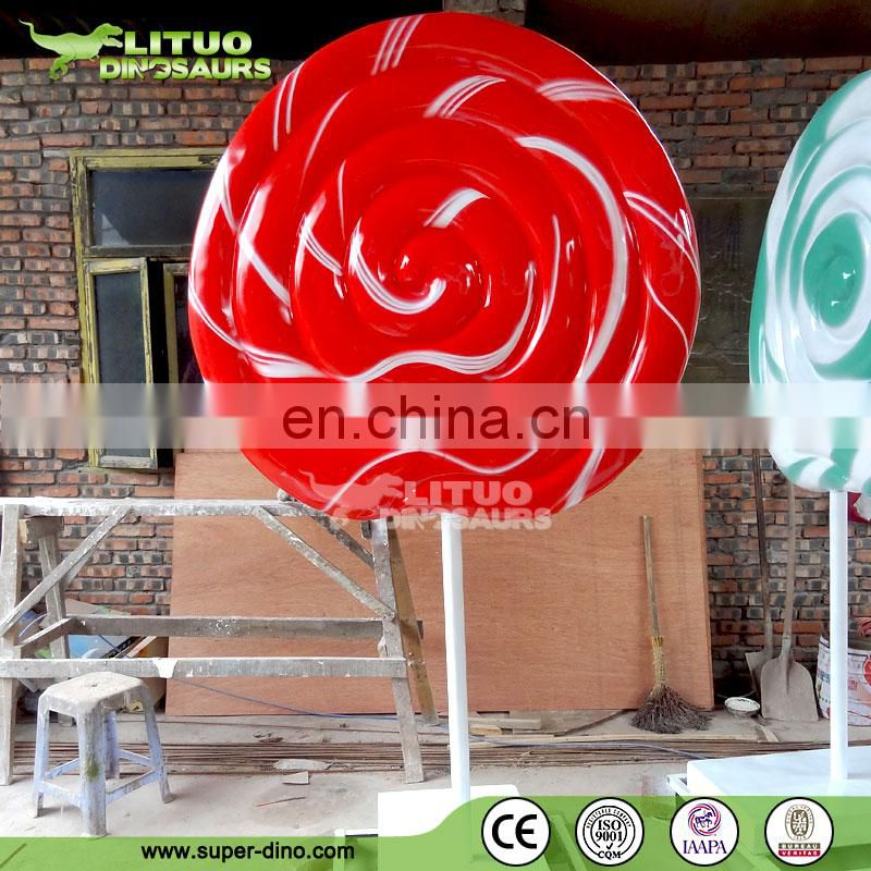 Large Fiberglass Lollipop Outdoor
