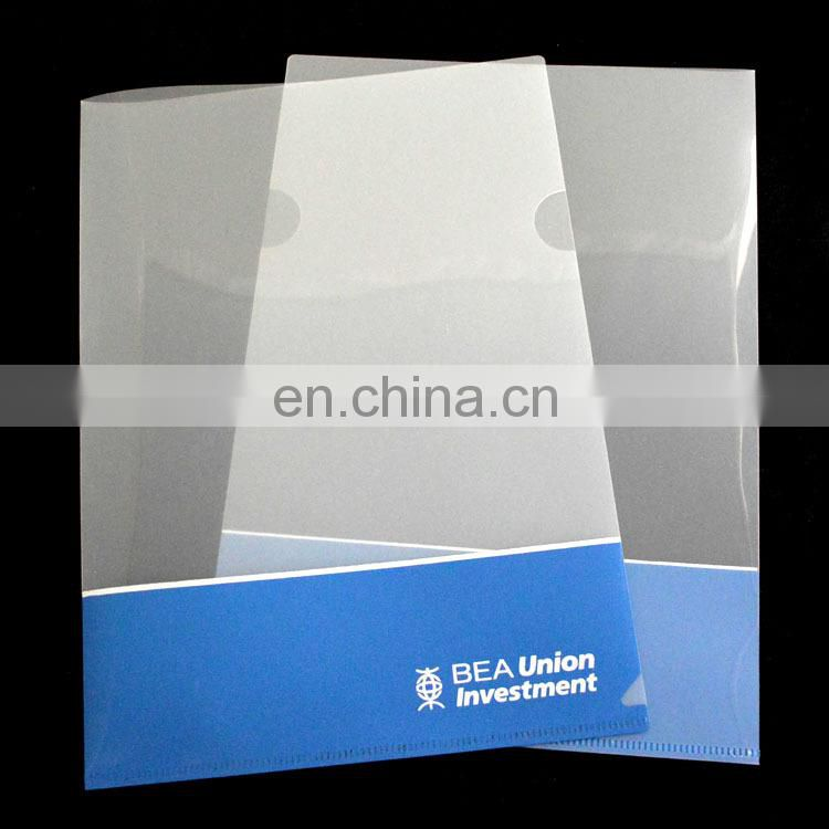 QEM PP A4 clear file folder for business
