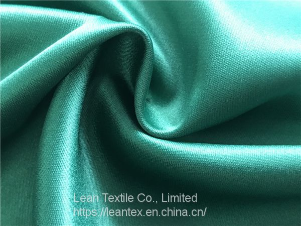 Polyester 150D Dull Stretch Duchess Satin Fabric 215 gsm Image