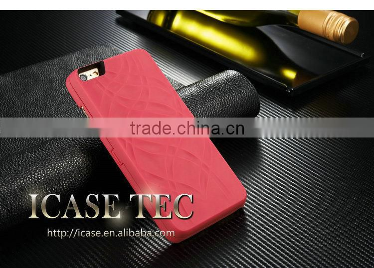 Luxury Best Quality Matte Phone Cases for iPhone 6P, for Iphone 6 Plus Plastic Back Cover, Mirror for iPhone 6 Cell Phone Case