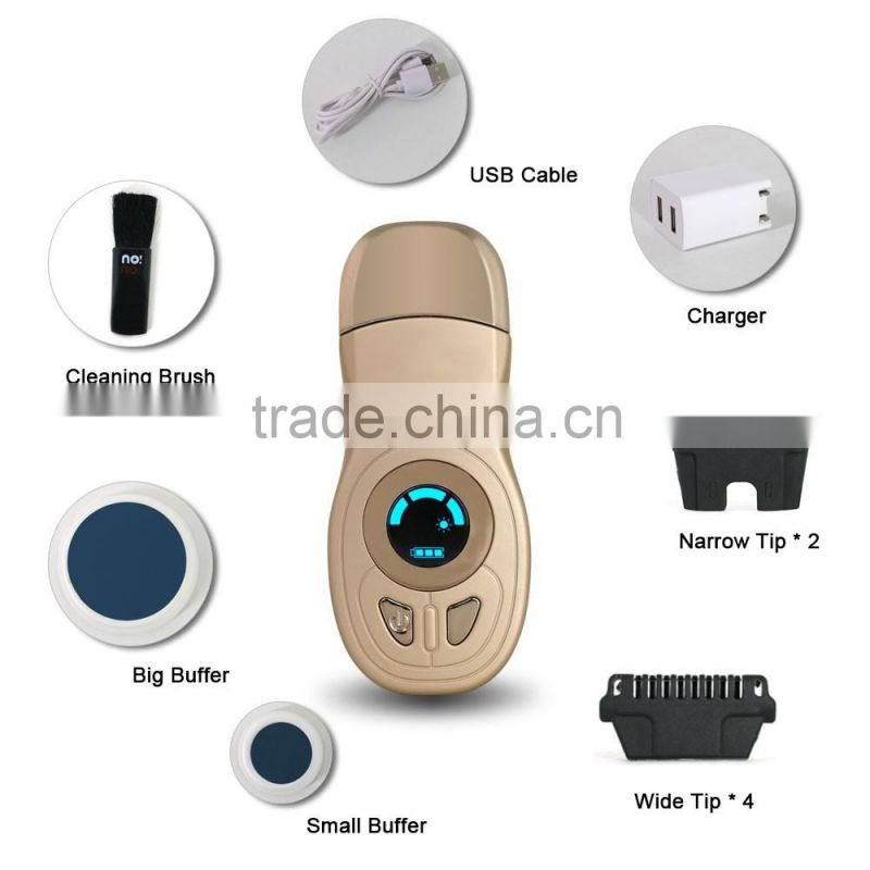 heated line men facial hair removal machine portable ipl hair removal mini home ipl hair removal machine with CE ROHS approval