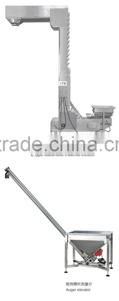 nylon pyramid tea bag granule packing machine