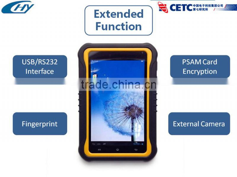 7 inch wireless RFID tablet PC with samsung exynos 4412 quad core 1.4GHz Processor