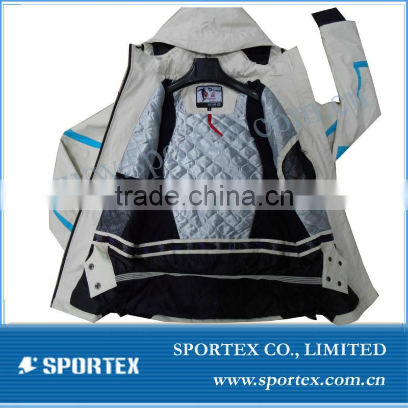 mens sports ski wear, OEM sports ski wear, sports ski wear with removable hood