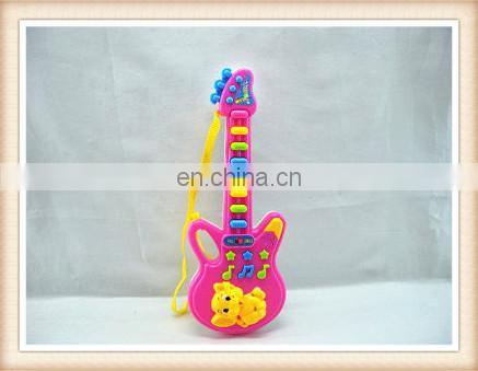 children cartoon musical plastic toy guitar