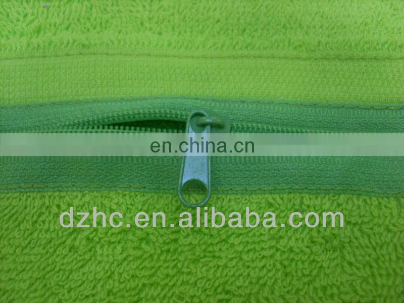 sport towel/golf towel/gym towel with zip