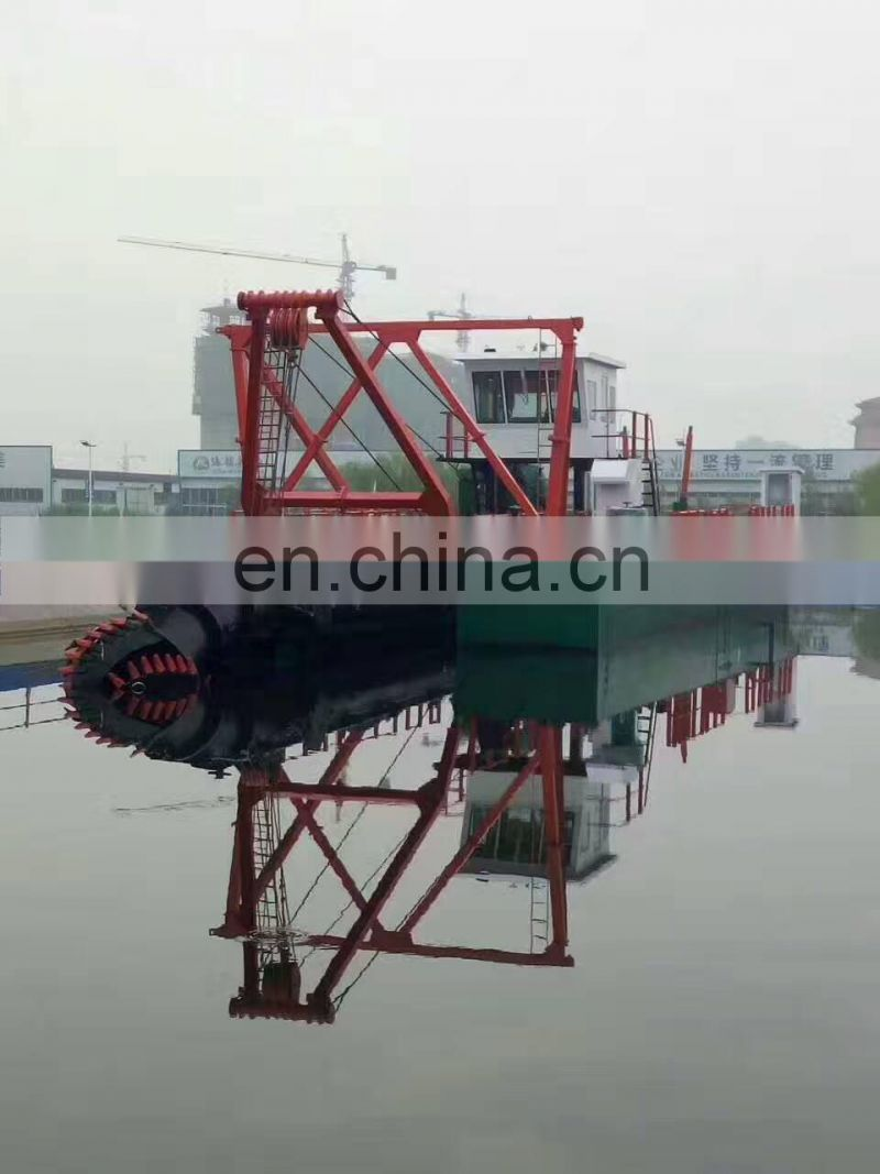 8 Inch River Small Cutter suction dredger,Sand Dredging Machine Vessel