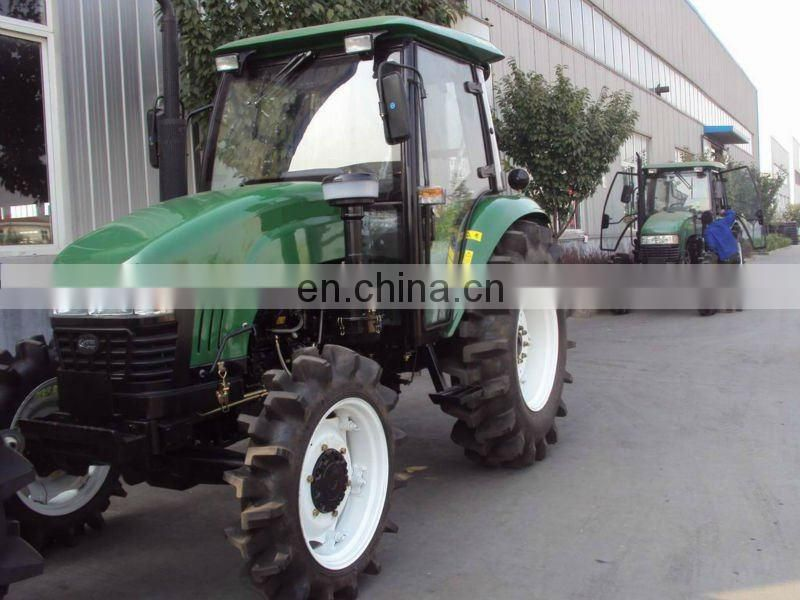 80-85hp 4wd farm tractor with cabin/air conditioning/canopy