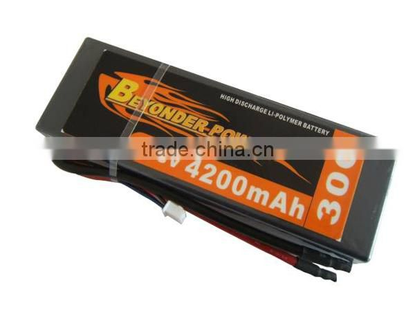 Wholesale price lipo rechargeable 14.8v rc 10000mah rc lipo battery small lithium battery, remote control RC battery OEM size