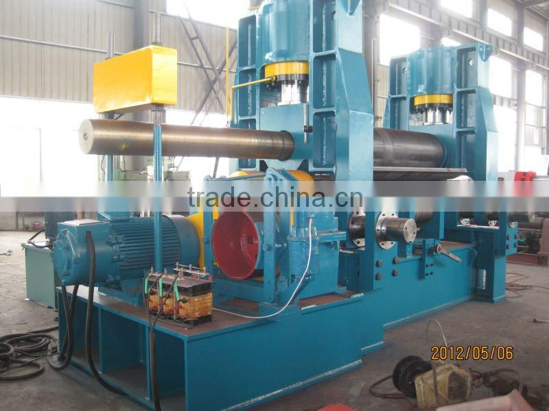 Roller Hydraulic thread rolling machine, press brake machine, stainless steel sheet cutting machine with Siemens motor