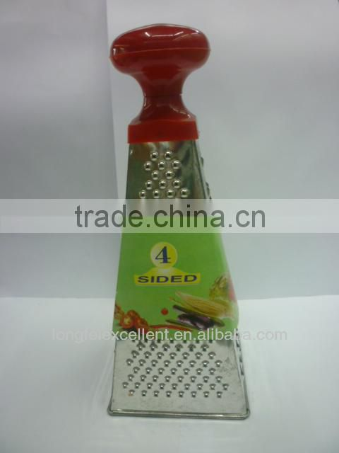 Flexible gratermulti purpose vegetable peeler grater