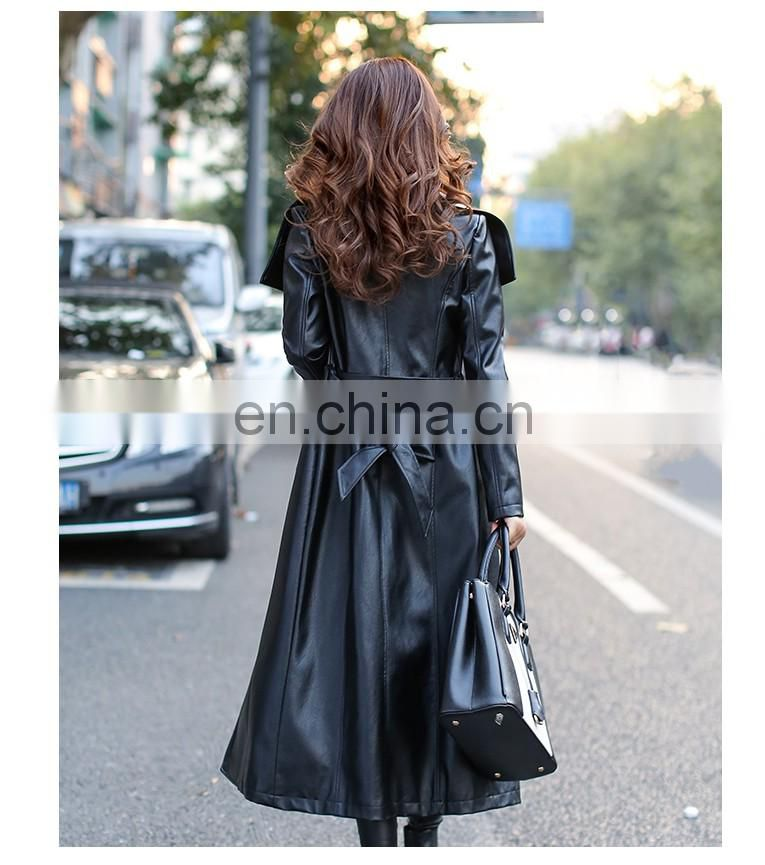 Ladies' Winter Genuine Leather Jacket Bolero Imitation Leather Jacket Fashion Designs PU Jacket