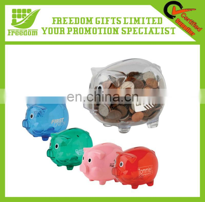 Stylish Logo Printed Piggy Bank