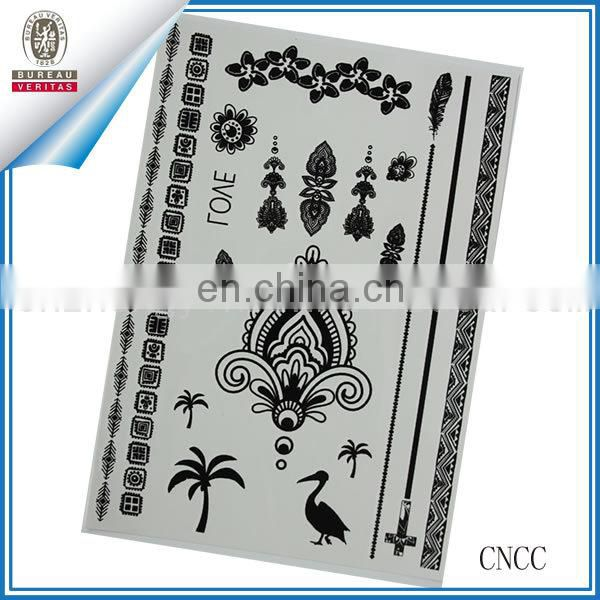 white wedding tattoos beautiful floral design temporary tattoo tattoo stickers transfer tattoo body art tattoo wedding sticker