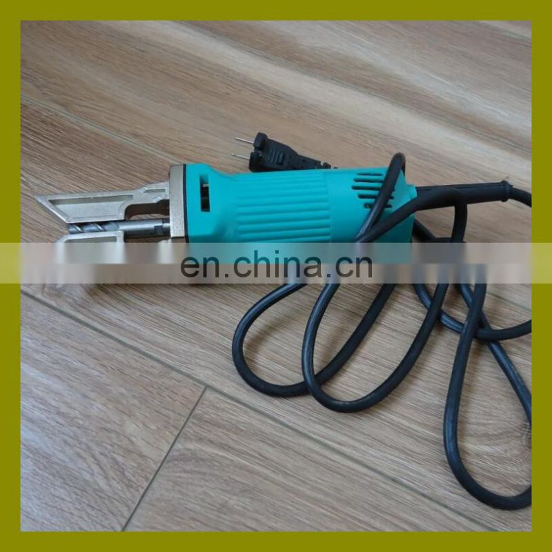 Electric portable window door cleaning machine for PVC profile removing welding seam