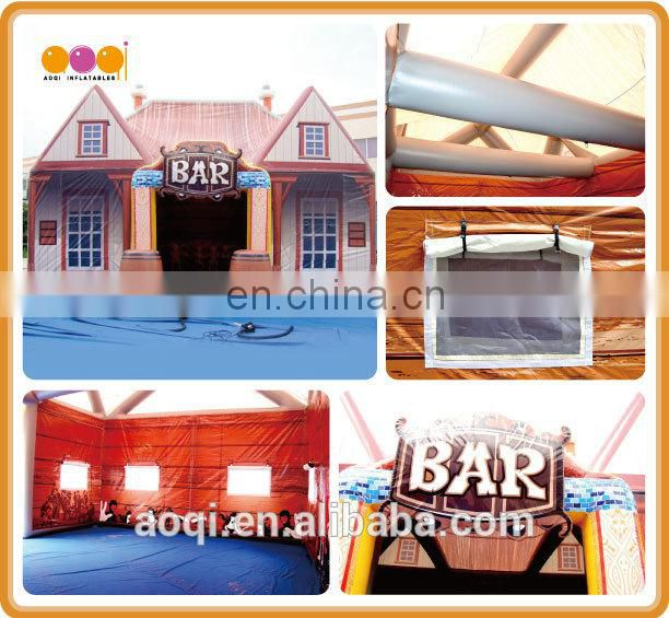 2017 hot sale big discount inflatable advertising tent from Guangzhou