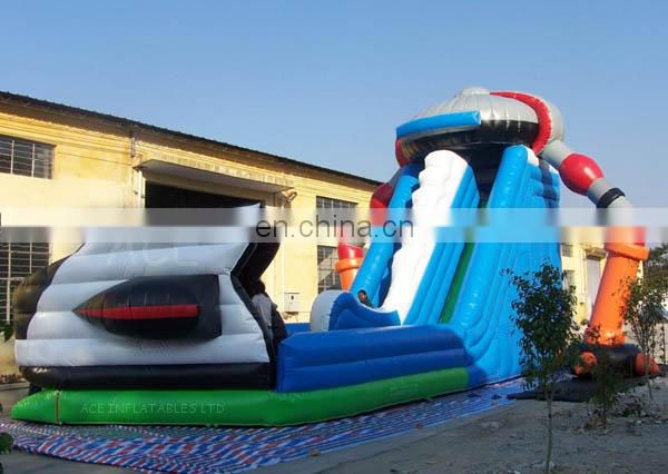 Hot sale Inflatable UFO Slide with new design for sale