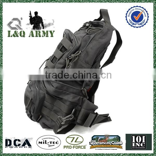 Military Foldable 1000D Backpack with Waist Bag