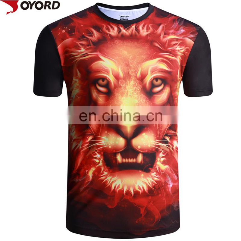 Sublimated T-shirts / 3D Printed T-shirts / All Over Printed custom t shirts