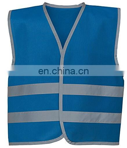 EN1150 standard Reflective kids waistcoat with four colours