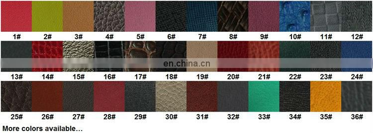 Low Price Chinese Factory Human Leather Promotional A4 Leather Portfolios