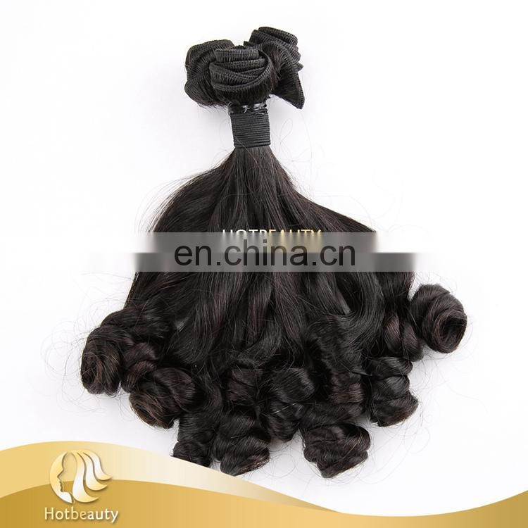 One Bundle from One Donor, Young Girl's Virgin Hair Spring Curl Double Drawn Funmi Hair Extension