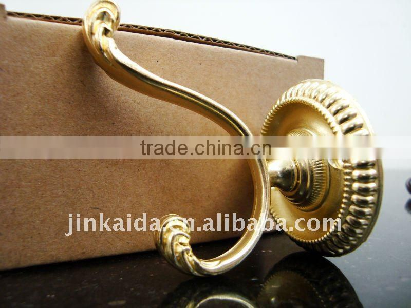 High quality classical clothes hook with four different surface preperation TG-013