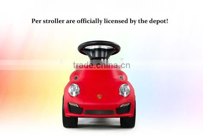 Rastar PORSCHE Newest kids ride on toy walker car
