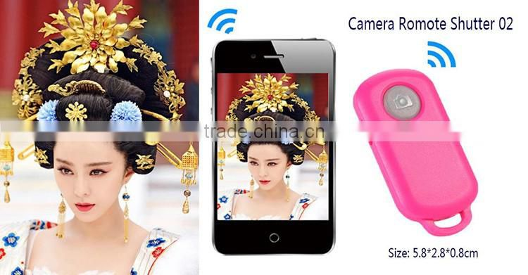 2016 Portable Wireless Bluetooth Cell Phone Camara Remote Shutter Control ABS Materials Selfie Stick for Smartphone