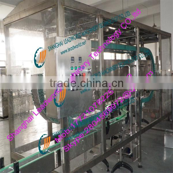 high efficiency and professional bottle washing machine