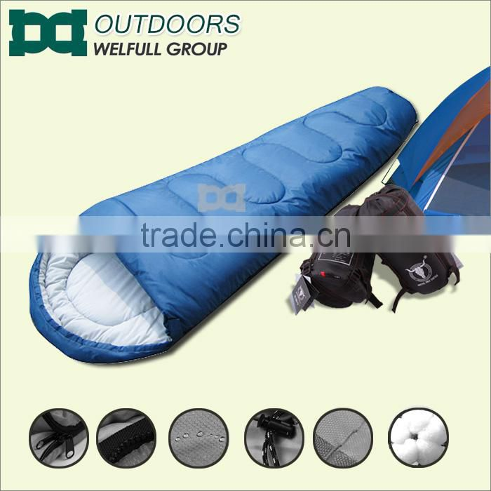Camping tent and round sewing mommy sleeping bag set
