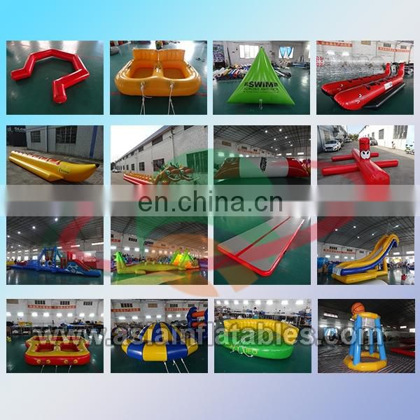 Hot Water Climbing Wall , Inflatable Ice Mountain For Water Games