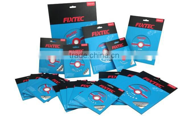 FIXTEC accessory diamond cutting disc for marble and granite