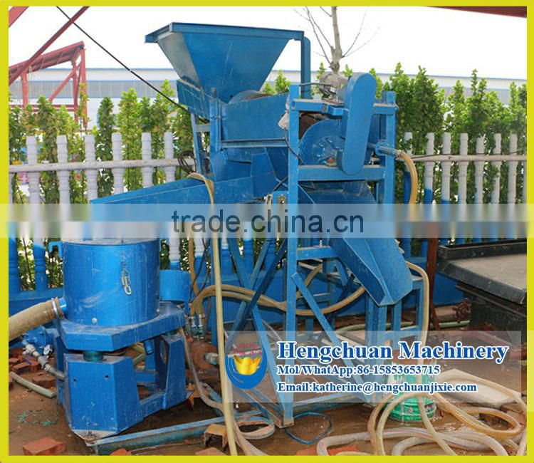 Laboratory Gold Gravity Plant Mini Centrifugal Choose Gold Machine/Knelson Concentrator for Gold Testing