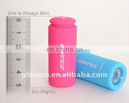 2011 hot smallest led flashlight pink mini flashlight led flashlights