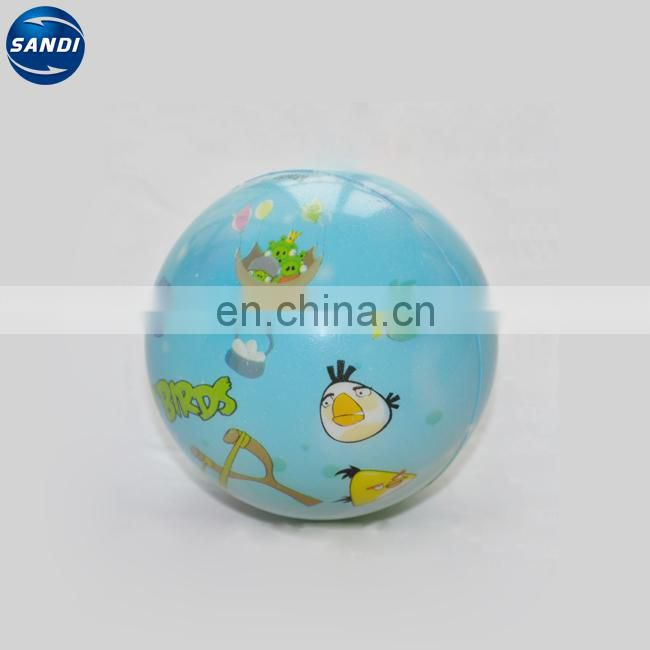 Promotional PU soccer custom stress ball