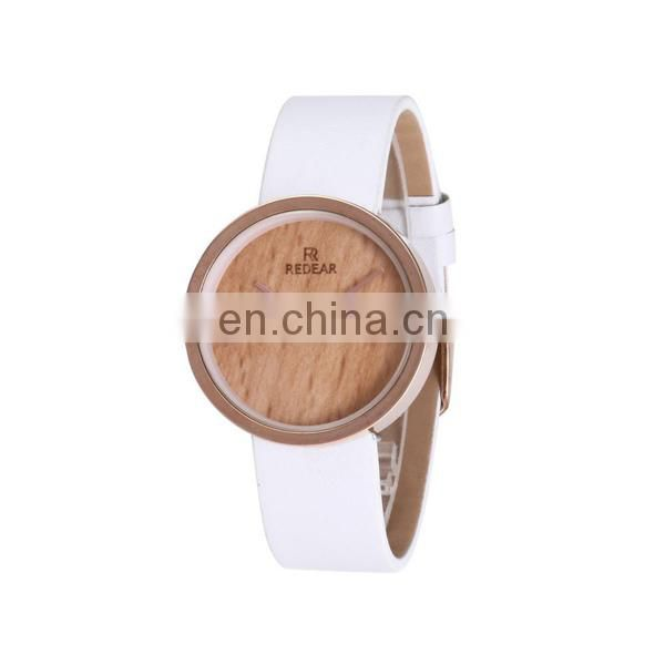 Latest japanese movement wood watch women wrist watch