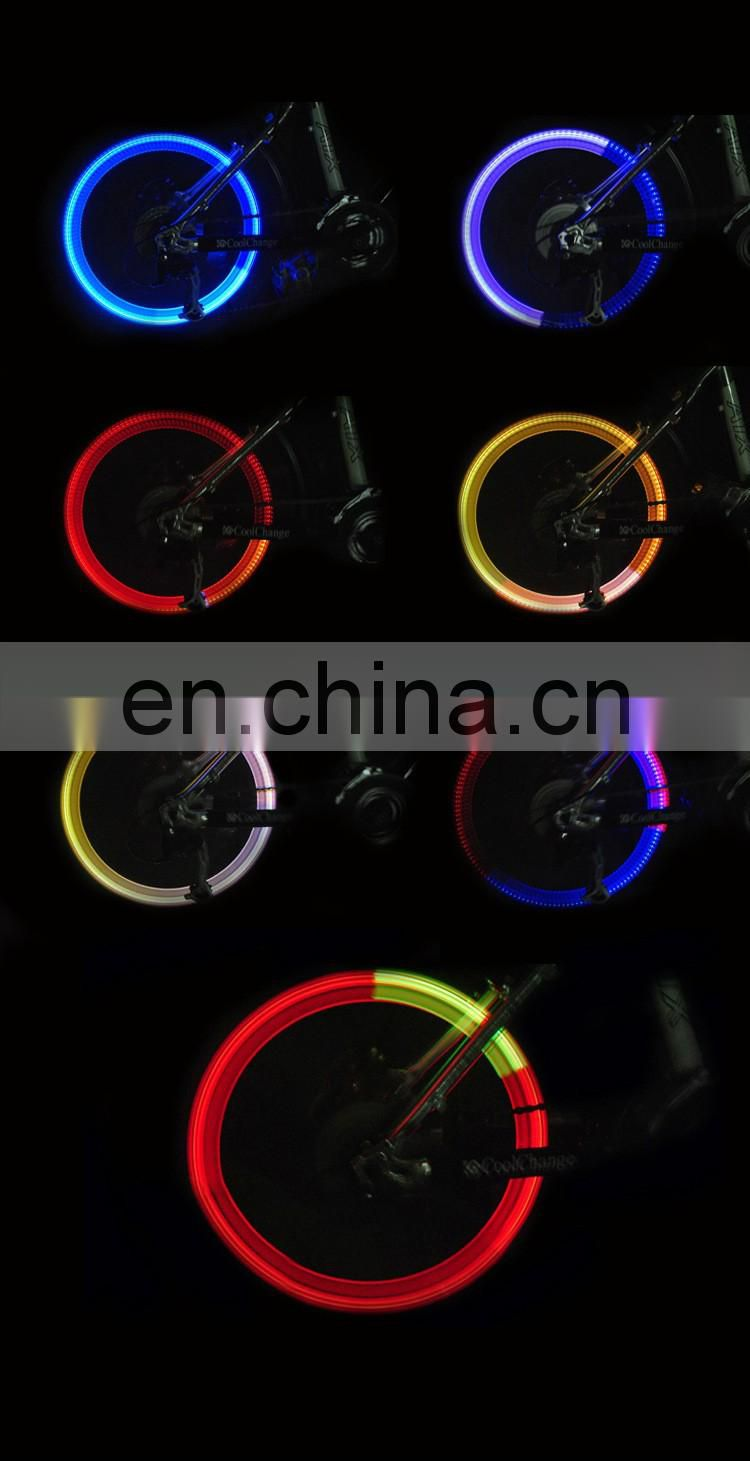 2 X LED Wheel Tyre light Tire Valve Cap Flash For Bike Bicycle Car Motorcycle Q2
