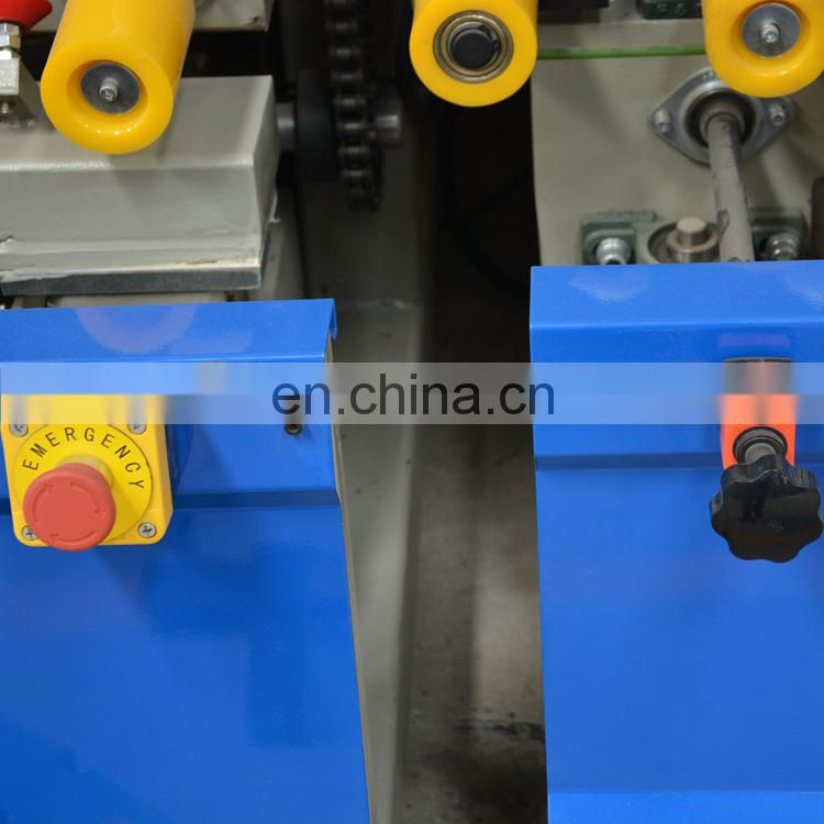Machine for double glass hollow making high efficiency machinery